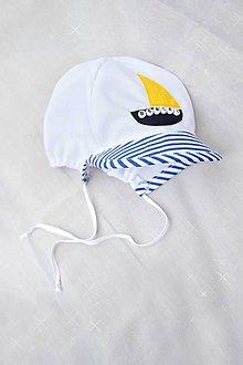 Detské čiapky - Baby šiltovka s menom - 6919142_