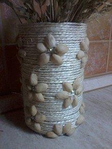 Nádoby - Váza na prírodný spôsob - 6923431_