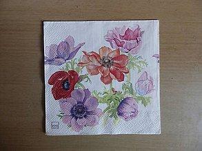 Papier - anemonky - 6923009_