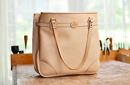 Veľké tašky - shopper bag SURMENA natural L - 6923516_