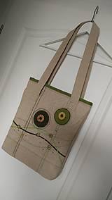 Kabelky - Kabelko taška-prírodne zelená - 6924524_