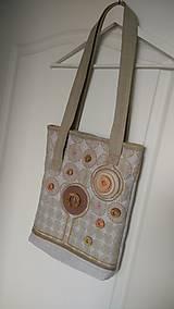 Veľké tašky - Kabelko taška-prírodne ružová - 6924575_