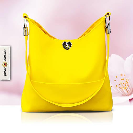 c71c0bd43 Bella Žltá - štýlová dámska kabelka na plece / Fabrica_Fantastica ...