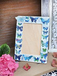 Rámiky - Motýlí fotorámček - 6925192_