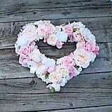 Dekoračné svadobné srdce