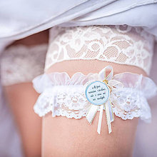 Darčeky pre svadobčanov - Brošňa na želanie - 6928349_