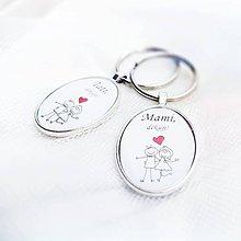 Darčeky pre svadobčanov - Prívesok na kľúče - 6928434_