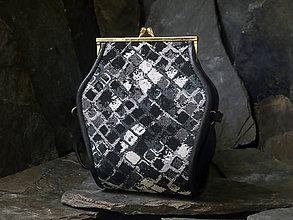 Kabelky - Kabelka - Čertice textil - SLEVA! - 6929803_