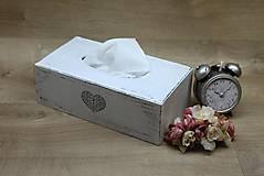 Krabičky - HM - Krabička na papierové vreckovky - podstava obdĺžnik - 6927948_
