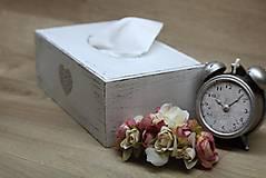 Krabičky - HM - Krabička na papierové vreckovky - podstava obdĺžnik - 6927950_