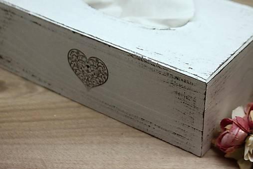 HM - Krabička na papierové vreckovky - podstava obdĺžnik
