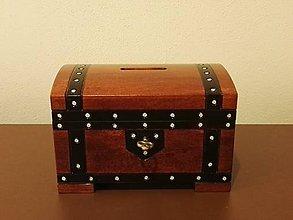 Krabičky - Sporiteľnička s kľúčikom - 6926344_