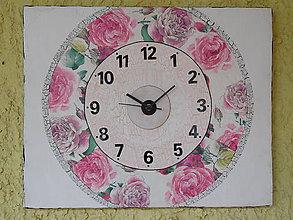 Hodiny - nástenné hodiny Záhrada II - 6926976_
