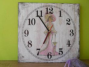 Hodiny - nástenné hodiny Madam - 6927025_
