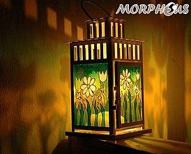 Svietidlá a sviečky - lampáš - 6927319_