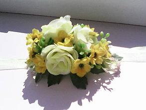 """Náramky - Kvetinový náramok """"Keď nás zobúdzajú slnečné lúče..."""" - 6929790_"""