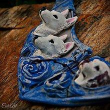 Sady šperkov - Sada šperkov Petra - podľa fotografie psov - 6929154_