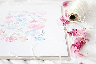 Grafika - Artprint // kvety {1} - 6928029_