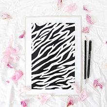 Grafika - Artprint // zebra - 6928463_
