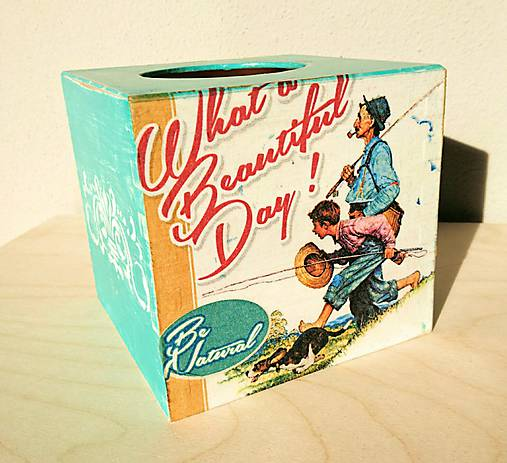 Box na servítky - vreckovky