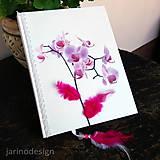 Papiernictvo - Zápisník orchidea A5 - 6930416_