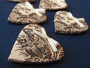 Darčeky pre svadobčanov - romantické magnetky pre svadobčanov - 6932914_