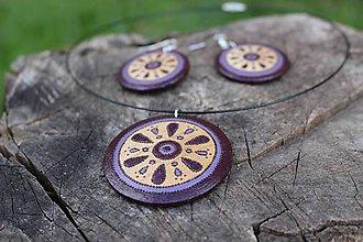 Náhrdelníky - Lilac - 6933159_