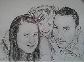 Kresby - rodinka úžasných... :-) - 6930451_