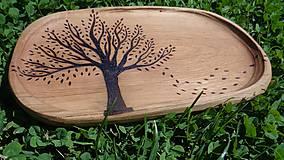 """Nádoby - Tanierik """"strom vo vetre"""" - 6930294_"""