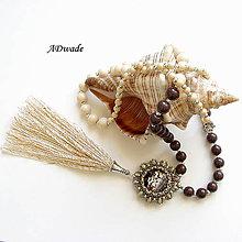 Náhrdelníky - Korálkový náhrdelník 589-0034 - 6935653_