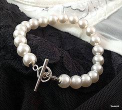 Náramky - Perlový náramok - 6934511_