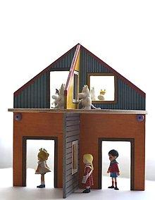 Hračky - Domček pre bábiky, panáčikov, petshopíkov, mumíkov a koníkov... - 6933938_