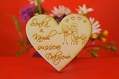 Darčeky pre svadobčanov - Magnetka ako darček pre hosti 42 - 6935715_