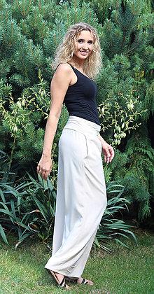 Nohavice - Volné letní kalhoty - 6937287_