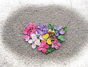 Náhrdelníky - letné flowers - 6937124_