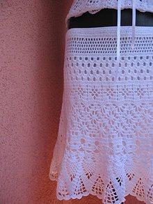 Sukne - Romantická sukienka \