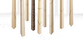 Grafika - Veľký les a rôznorodé vtáctvo - formát na výšku - 6938581_