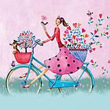 """Papier - Servítka """"Weekend on bike"""" - 6938827_"""