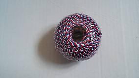 Obalový materiál - Špagát tricolora 40g - 6941128_