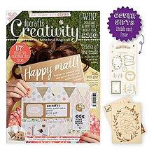 Návody a literatúra - Creativity časopis č. 72 July 2016 + nálepky + drevené pohľadnice - 6941314_