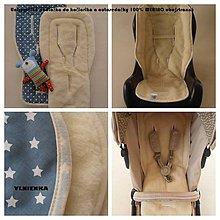 Textil - CONCORD Univerzálna podložka do kočíka a autosedačky MERINO TOP - 6941872_