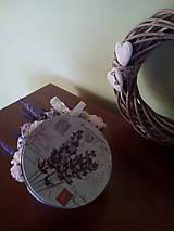 Dekorácie - Dekorácia Levanduľová - 6941713_