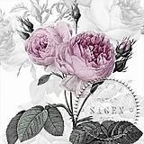 """Papier - Servítka """"Vintage Ruža"""" 80077 - 6941380_"""