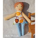 Hračky - bábika na žužlanie - 6941903_