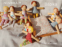 Hračky - bábika na žužlanie - 6941904_