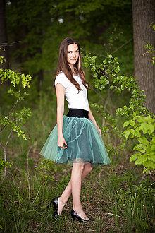 Sukne - *Bylinkářka - tylová suknička* - 6944278_