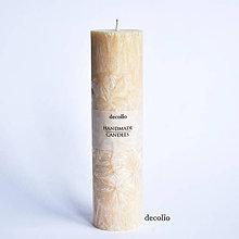 Svietidlá a sviečky - Medová sviečka Ø45 - 6943102_