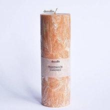 Svietidlá a sviečky - Škoricová sviečka Ø55 - 6943206_