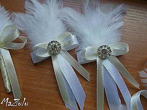 Pierka - svadobné pierka aj pre ocinov - 6944176_