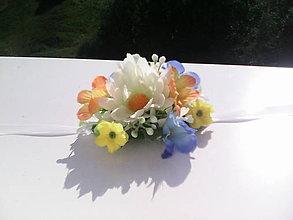 """Náramky - Kvetinový náramok """"Ležím si len tak na lúke..."""" - 6943072_"""